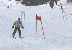 Nisan ayında kayak keyfi