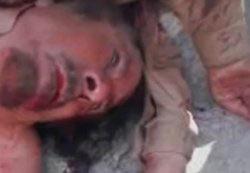 Kaddafi halk tarafından linç edildi