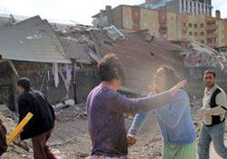Van'daki depremde ürküten tablo