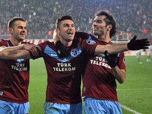 Trabzonspor'un zirve inadı devam ediyor
