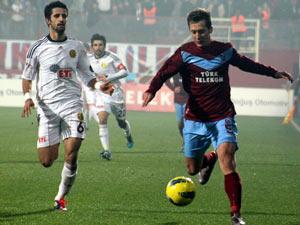 Trabzon fırtınası yeniden esmeye başladı