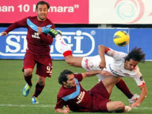 Trabzon'a Antalyaspor freni