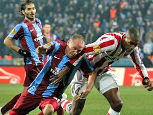 Trabzonspor evinde mağlup oldu
