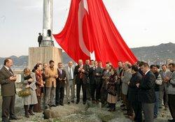 Rize'nin büyük bayrak rekoru kırıldı