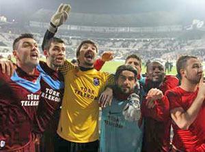Trabzon istanbul'da gol kaçırma rekoru kırdı