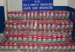 Rize'de çay hırsızları yakalandı