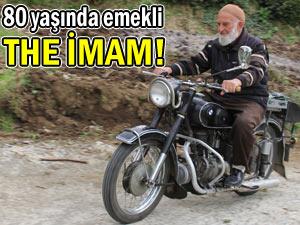 80 yaşındaki emekli imamın motosiklet merakı