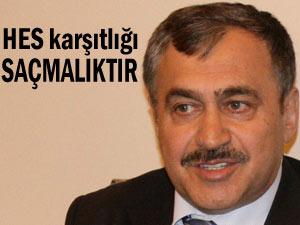 Bakan Eroğlu, 'HES'e karşı çıkmak saçmalıktır!'