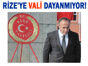 RİZE TAM 40 GÜNDÜR VALİ'SİZ!