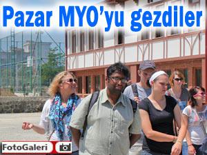 Amerikalı öğrencilerin Pazar MYO ilgisi