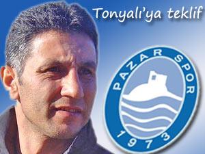 PAZARSPOR ŞEVKİ TONYALI'YA EMANET