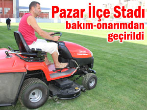 Pazar İlçe Stadı yeni sezona hazır