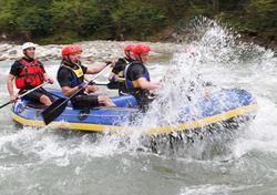 Rizeli raftingciler Avusturya yolcusu