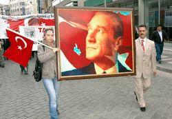 Trabzon'da örnek 1 Mayıs