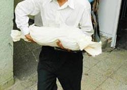 Trabzon sahilinde bebek cesedi!