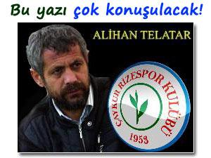 RİZESPOR'DA TEK ADAM: METİN KALKAVAN!