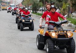 Dağ motorları turizmin yeni rengi