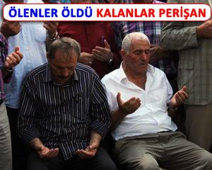 TAZİYELERİ BABALARI YAN YANA KABUL ETTİ!