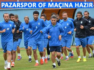 Pazarspor Ofspor ile Pazartesi maçı yapacak