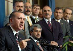 Erdoğan: Habersiz istifa etmeyin!