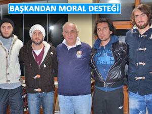 Pazarspor'a Bugsaş maçı öncesi moral yemeği