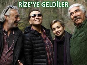 Demet Akbağ'ı ailesi Rize'de yalnız bırakmadı