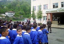 Jandarma'dan trafik eğitimi