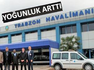 Trabzon Havalimanı'nın yolcu trafiğinde yüzde 11'lik artış