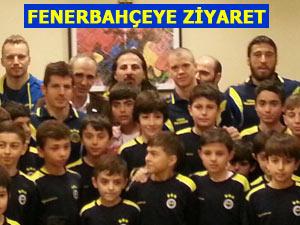 Rize Fenerbahçe okulu öğrencileri başarı diledi