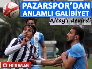 Pazarspor Altay'ı deplasmanda da mağlup etti