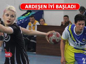ARDEŞEN PLAY OFF'A İYİ BAŞLADI