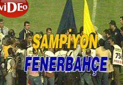 ...Ve Fenerbahçe ŞAMPİYON