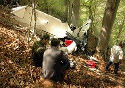 Trabzon'daki kayıp uçak bulundu