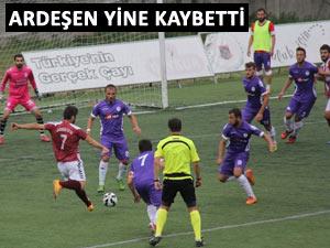 ARDEŞENSPOR'DA KÖTÜ GİDİŞ DEVAM EDİYOR