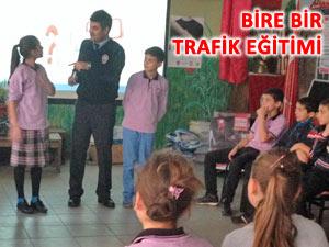 20 günde 1380 öğrenciye trafik eğitimi verildi