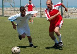 Pazar'daki köylerin futbol heyecanı
