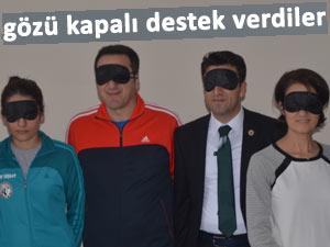 Ardeşen GSK'dan engellilere gözü kapalı destek!