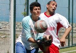 Köyler arası futbol heyecanı 2