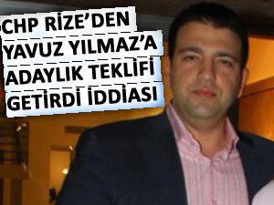 CHP'nin Rize adayı Mesut Yılmaz'ın oğlu mu?