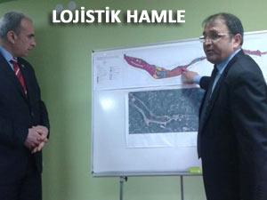 Rize'de yapılacak Lojistik Üs için imar toplantısı