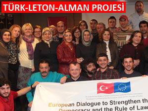 5 Alman 5 Leton 43 Türk Ayder'de diyalog kurdu