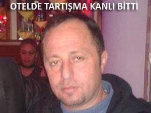 ARTVİN'DE OTELDE KANLI KAVGA: 1 ÖLÜ