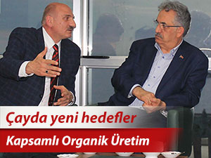 Organik üretim için kapsamlı çalışmalar yürütülecek
