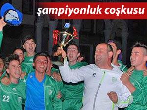 Çayelispor U16 takımı Bölge Şampiyonu oldu