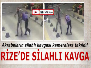 SOKAK ORTASINDA SİLAHLI KAVGA!