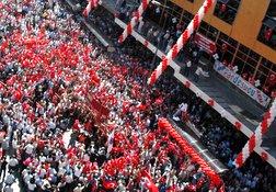 Anafartalar'da SEZER protestosu