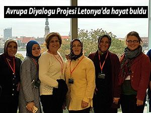 Avrupa Diyalogu Projesi Letonya'da hayat buldu