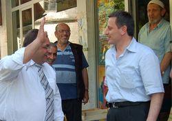 MHP M.Vekili adayları Hemşin'de