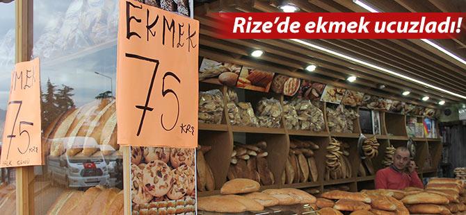 Rize'de fırıncıların rekabeti vatandaşa yaradı!