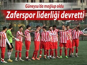 ZAFERSPOR LİDERLİĞİ DEVRETTİ